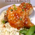 Baked Honey Sriracha Chicken Recipe | DailyDIYLife.com