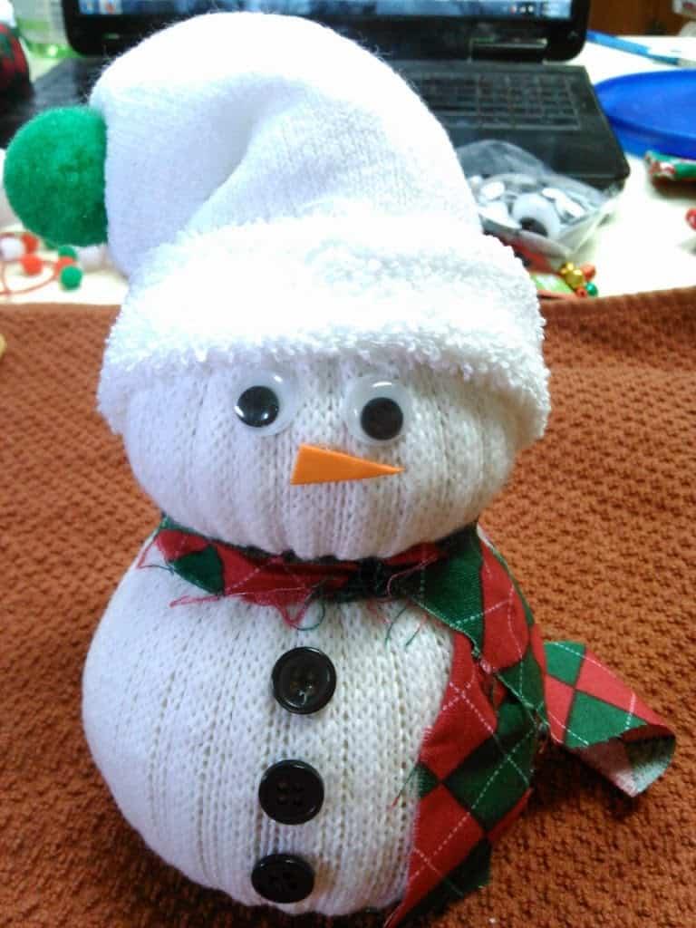 Cozy & Cute Sock Snowmen