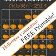 FREE Printable-Halloween Countdown-Daily DIY Life.com