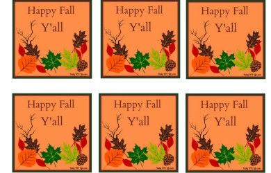 FREE Printabls Labels for your Fall Crafts-Daily DIY Life.com