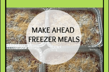 Baked Ziti Recipe: Make Ahead Freezer Meals Daily DIY Life.com