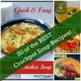 20 of the BEST Crockpot Soup Recipes : Daily DIY Life.com