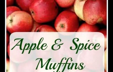 Apple Spice Muffin Recipe! Daily DIY Life.com