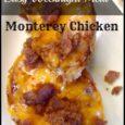 Easy Meals - Montery Chicken : Daily DIY Life.com
