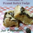 The Easiest Peanut Butter Fudge - Daily DIY Life.com