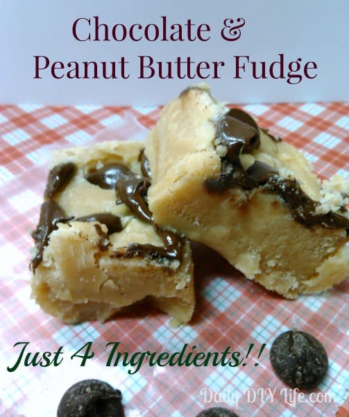 the best part about this peanut butter fudge it calls