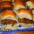 Easy Sliders - for a crowd! Daily DIY Life.com