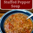 Easy Meals: Stuffed Pepper Soup - Daily DIY Life.com