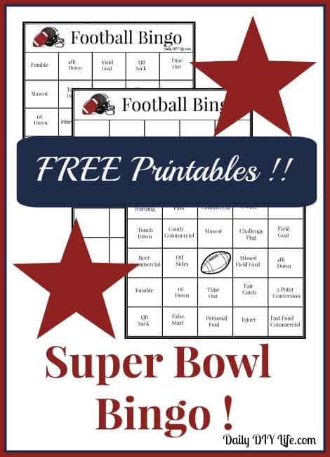 Pin Printable Super Bowl 25 Square Football Pool Template on Pinterest