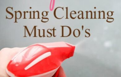 Top 8 Spring Cleaning Must Do's ! Bonus: FREE Printable Checklist! DailyDIYLife.com