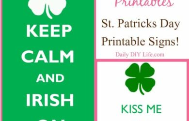 St Patricks Day FREE Printables : dailydiylife.com