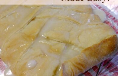 Cream Cheese Danish Made Easy! | DailyDIYLife.com