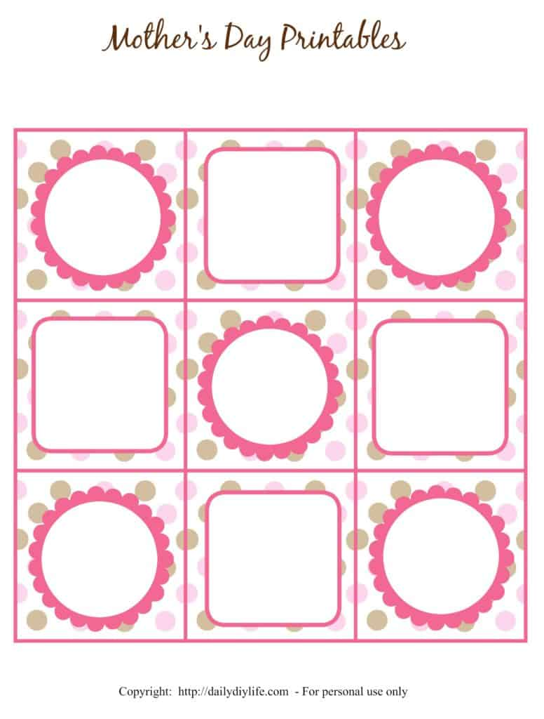Mother's Day FREE Printable Gift Tags or Cupcake Toppers ...