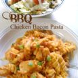 BBQ Chicken Bacon Pasta - A One Pot Meal! | Daily DIY Life.com
