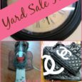 Yard Sale finds! Angels, Herbs and a Cute New Handbag! |DailyDIYLife.com