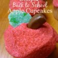 Super Simple Back to School Apple Cupcakes | DailyDIYLife.com