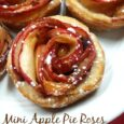 Mini Apple Pie Roses - A fantastic dessert for any holiday table | DailyDIYLife.com