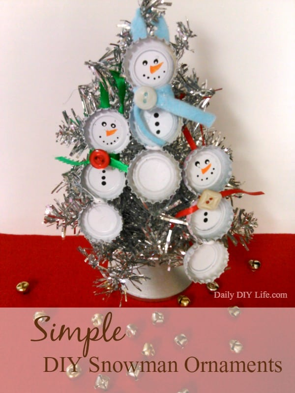 Simple And Adorable Diy Snowman Ornaments