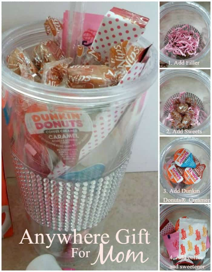 time out gift for busy moms with a little help from dunkin donuts