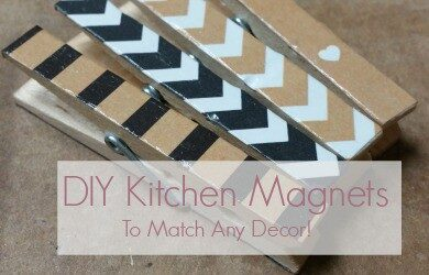 DIY Kitchen Magnets feature
