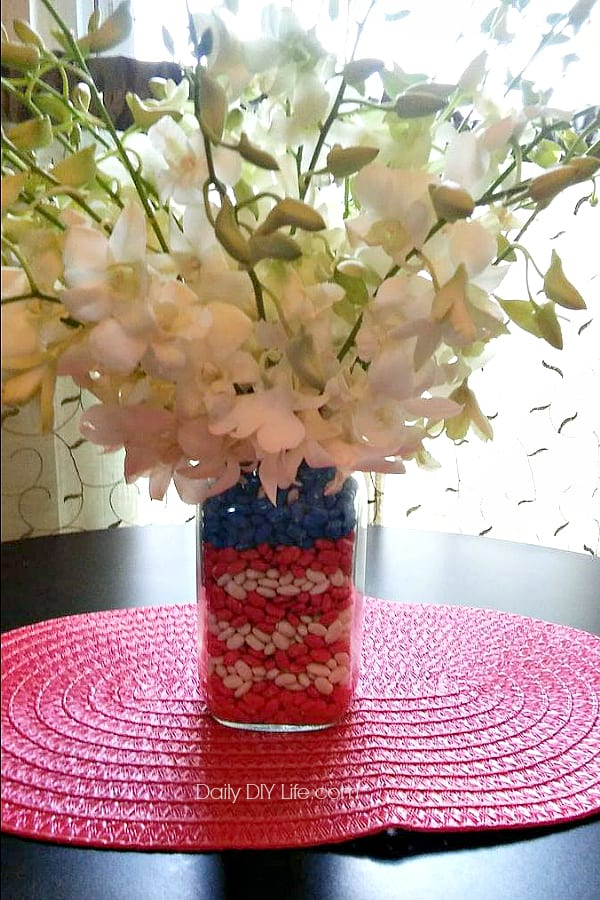 Diy Patriotic Mason Jar Vase Craft Your Love For The Red White And