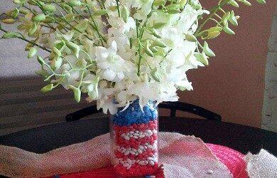 patriotic vase featured