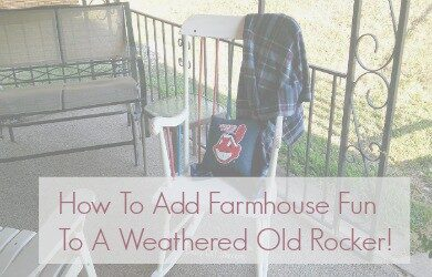 Farmhouse Fun Chair Makeover1 feature