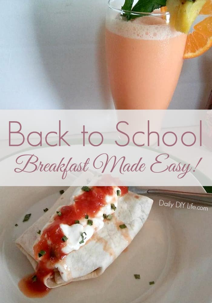 Back to School Breakfast Made Easy! Thanks to Campbell's, V8+ Energy and Pace! #Ad #CollectiveBias #CampbellSavings