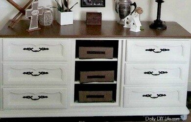 Beautiful Dining Room Buffet Feature