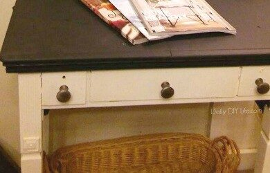 sewing table feature
