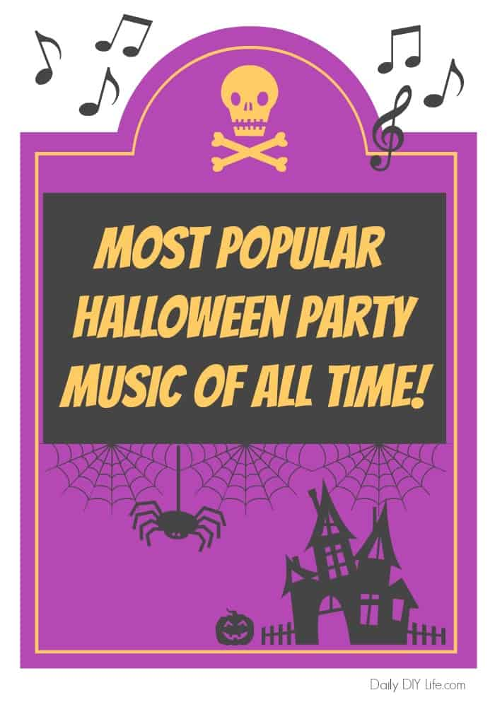 The Most Popular Halloween Music of All Time! It is time for your annual Halloween party, will you be playing these songs through the speakers? #Halloween #Music #HalloweenParty
