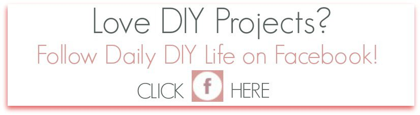 Follow Daily DIY Life on Facebook!