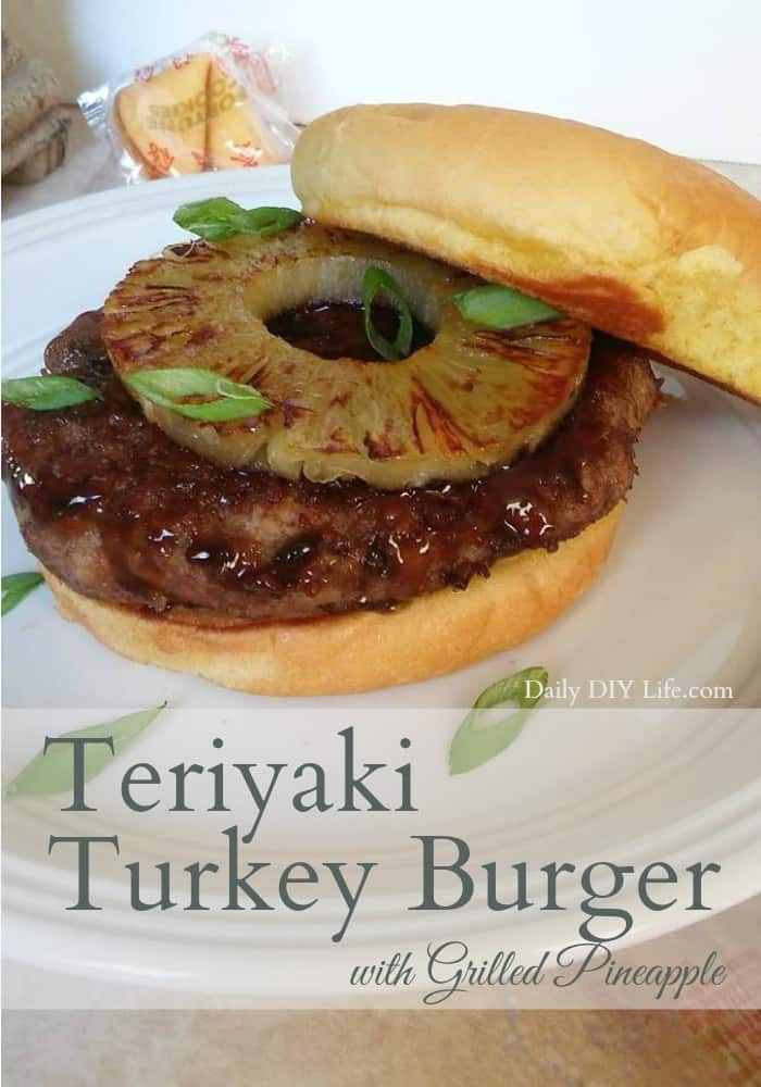 Kick your boring turkey burger up a notch with a flavorful teriyaki glaze and grilled sweet pineapple. An Easy Meals recipe that is sure to please everyone!