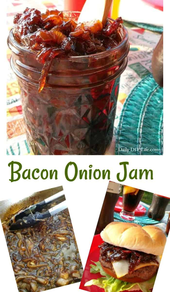 What goes better with an ice cold Coca-Cola than a burger? One topped with the best Bacon Onion Jam! The only burger topping you need! #ad #ShareIceColdFun