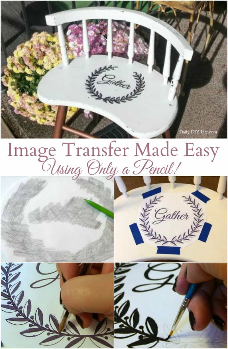 Creating an image transfer does not need to be as complicated as it looks. Let me show you how easy it can be using only a printer and a No.2 pencil!