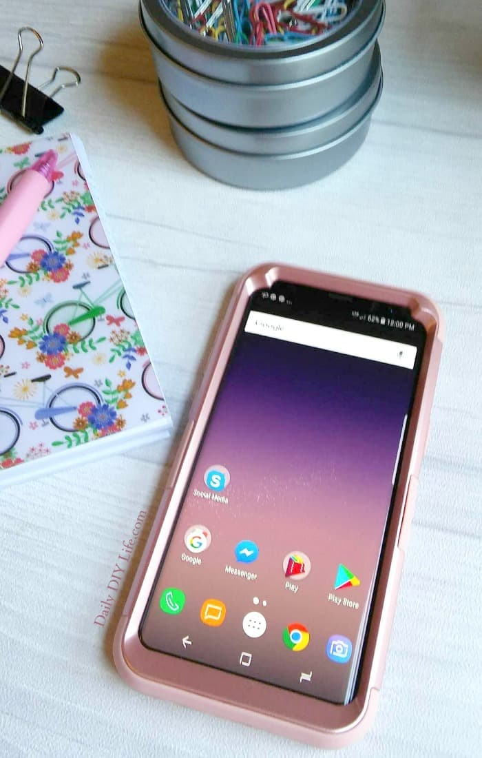 Unlocked Samsung Galaxy GS8 and GS8 plus only available at Walmart.com. Use on your favorite carrier, customize with your favorite apps, widgets, and themes to give your new GS8 your own personal touch! Here are our Top 10 features for busy moms! #ad #SamsungUnlocked #cbias
