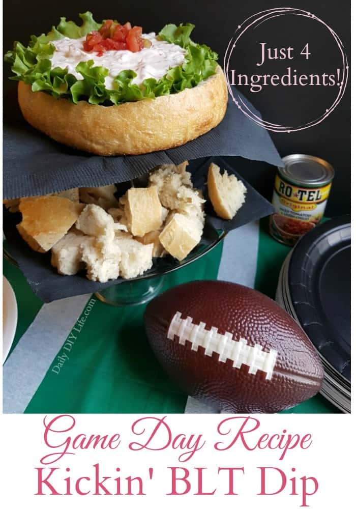 Game day recipe kickin blt dip just 4 ingredients if you are looking for the perfect game day recipe to wow your guests you forumfinder Gallery