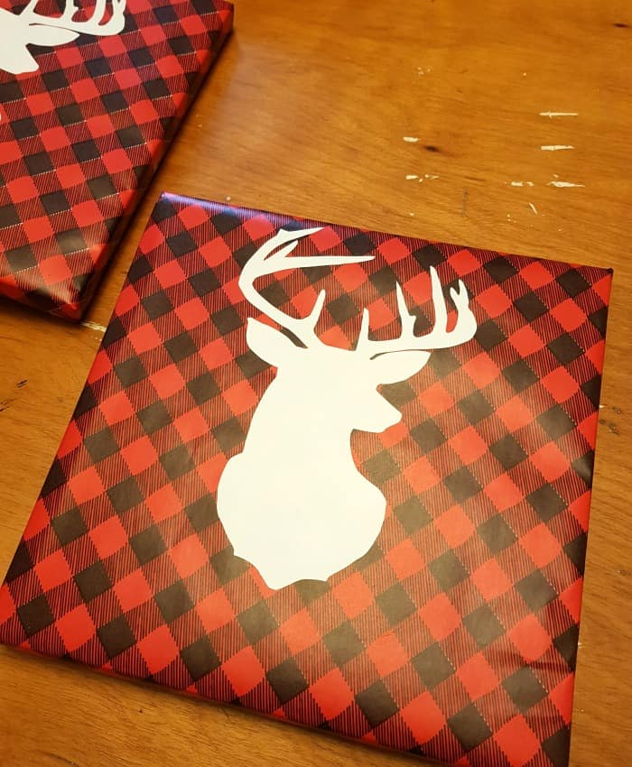 If you are loving the beautiful Buffalo Plaid trend as much as I am, why not add it to your holiday decor? It's an easy DIY and looks great with any style.