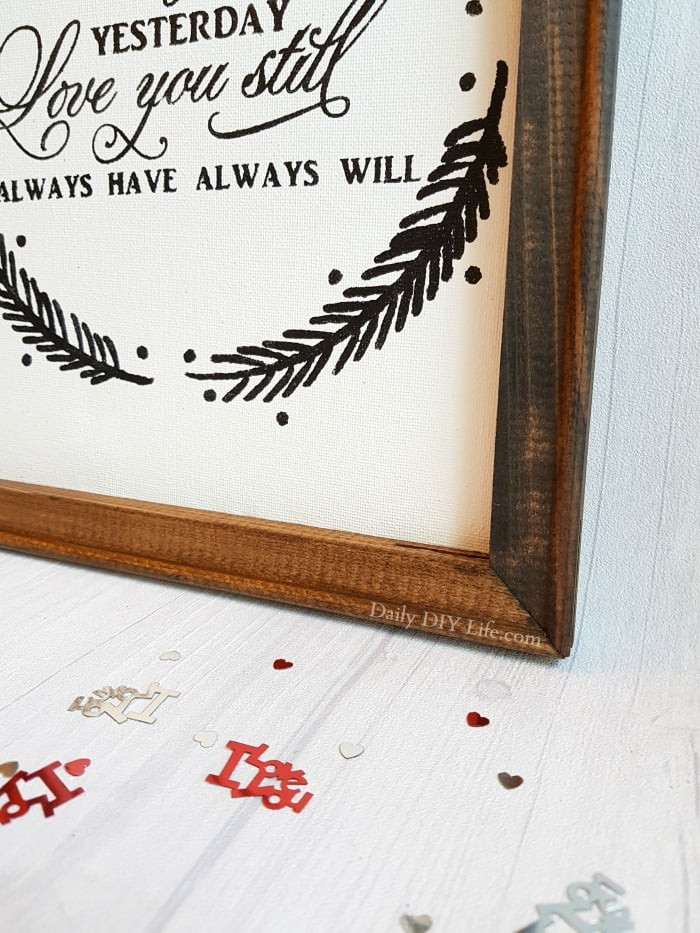 Reverse Canvas is a beautiful, rustic technique used to create stunning wall art. With a little help from your Cricut cutting machine, You can create something so wonderful and personalized just for you. If you can imagine it, you can frame it! #CricutMade #CraftAndCreateWithCricut