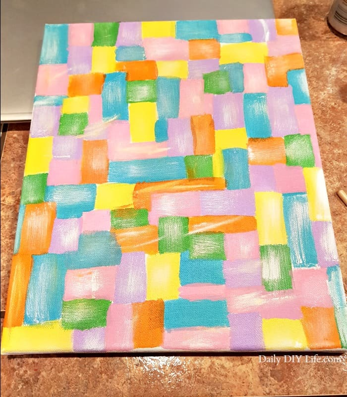 How To Create A Beautiful Hot Mess Canvas Another Fun
