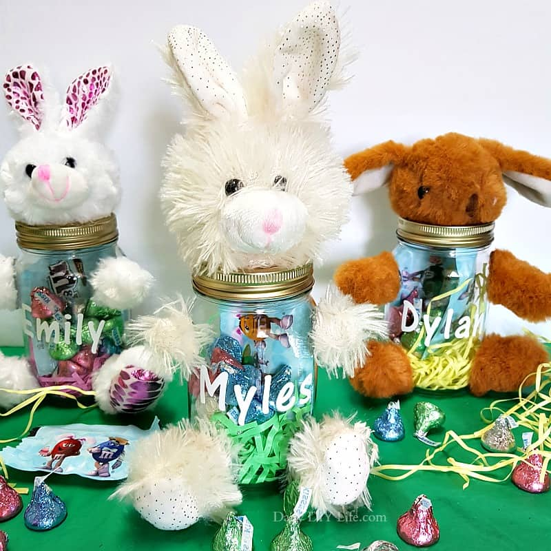 Personalized Easter Gift Idea A Quick And Easy Dollar Store Easter